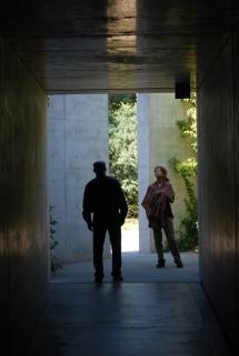 Carola und Jens im Chichu Art Museum