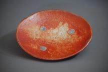 CK Schale, Shino - 2013 - 26 x 23 x 4cm - Preis: 160€
