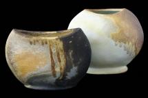 2 Gefäße (Porzellan) - 2008 - 20x24cm / 23x24cm