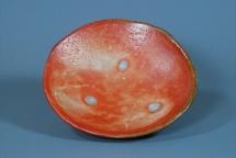 Schale, Shino-Glasur - 2008 - 23x7cm