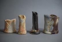 CK 4 Gefäße, Porzellan - 2010 - 7 x 7x 4cm/11 x 4x 3cm/15 x3 x 3cm/11 x9 x 5cm - Preis: 40€ / 50€ / 60€ / 80€Preis: 55€