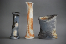 3 Gefäße (Porzellan) - 2011 - 22 cm, 24 cm, 33 cm hoch